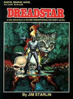 Marvel Graphic Novel #3: Dreadstar