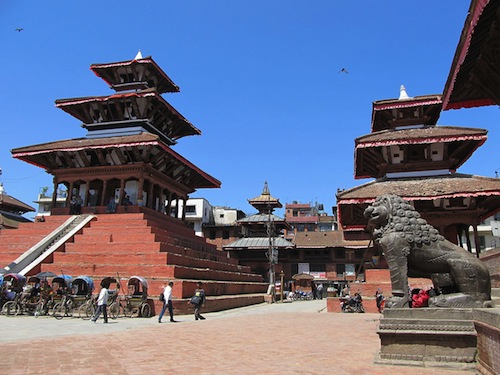 Darbar Square, Kathmandu. Photo courtesy Wikimedia Commons.