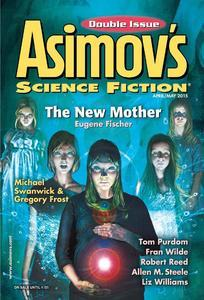 Asimov's Science Fiction April May 2015-rack