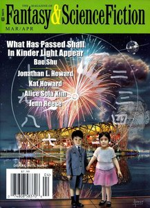 The Magazine of Fantasy and Science Fiction Marh April 2015-rack