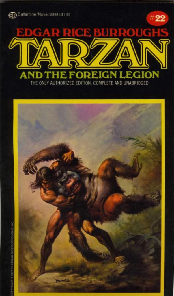 Tarzan Foreign Legion Ballantine