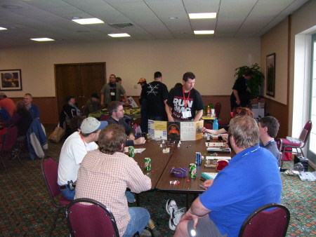 A small part of the main gaming room at Garycon II