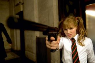 Chloe Moretz in <i>Kick Ass</i>