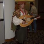Dan the Bard entertains at Gen Con