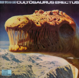 Blue Oyster Cult's Cultösaurus Erectus, with lyrics by Michael Moorcock