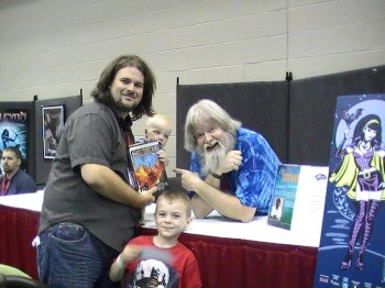 Andrew and his sons meet Ed Greenwood, of Forgotten Realms (and Elminster) fame.