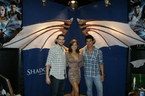 Jason Contini, Caitlin McIntosh and Carlos Antonio Leon, cast of Shadowland
