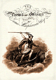 Ossian title page