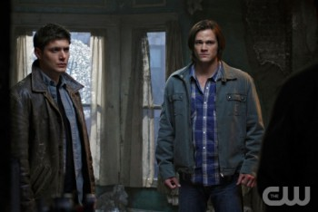 Dean (left) and Sam (right) Winchester