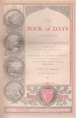 Book of Days title page
