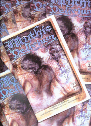 "The ""Goblin Delirium"" issue of Mythic Delirium"