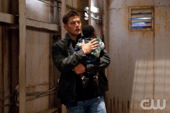 Dean and a cute little kid. Grab the tissues, this is going to get ugly.
