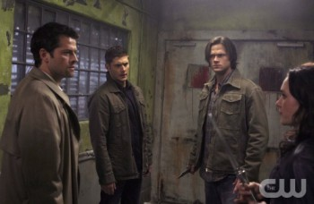 The Winchesters and the Angel Castiel meet back up with an old friend: demon Meg.