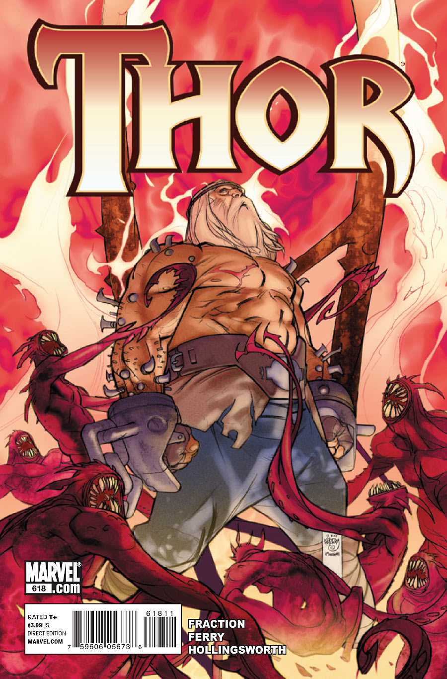 The latest issue of Marvel's THOR features Odin the All-Father and his return from the death of Limbo.