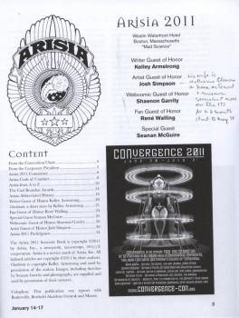 arisia-2011-program-book-contents-page