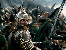 Theoden leads the charge...