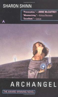 http://www.amazon.com/Archangel-Samaria-Book-Sharon-Shinn/dp/0441004326/ref=sr_1_1?ie=UTF8&s=books&qid=1297134192&sr=1-1