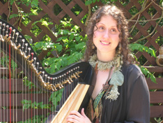 Caitlyn Paxson, Harpist, Folklorist, Storyteller