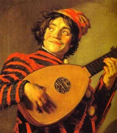 """Frans Hals' """"Jester with a Lute"""" (1620-1625)"""