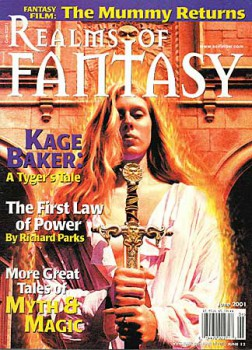 Realms of Fantasy, June 2001, containing