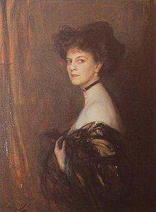 Portrait of salonniere Élisabeth, comtesse Greffulhe, by Laszlo