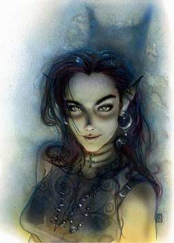 Planescape changed up the sex of the Cat Lord