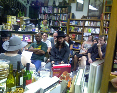 Top Shelf Books on Second Thursdays. We Like Hats!