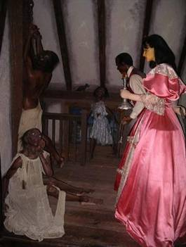 Wax figures of the Lalaurie attic