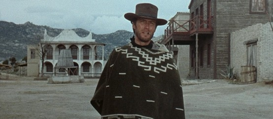 Clint Eastwood, rocking the Sarape.