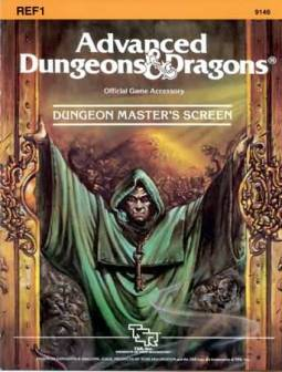 Jeff Easley did the 1E AD&D reprint screen, but does it hold the same appeal?