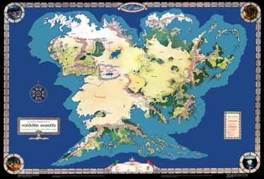 MERP made a map that started it all for me, and Tolkien only explored about a quarter of it!