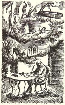 """""""Carmilla"""" by Edward Ardizzone, 1872"""