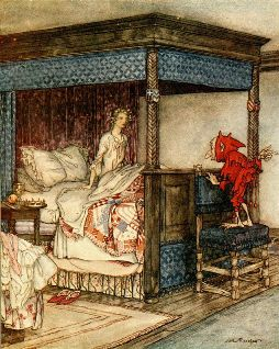 They don't make them like Arthur Rackham anymore, and children suffer for it...