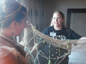 This is Anita Allen, giving me my SHARK NET!!!