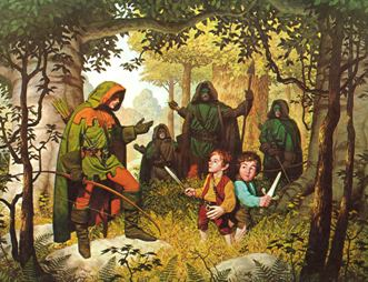 Faramir was always my favorite Tolkien character, and The Brothers Hildebrandt do him right.