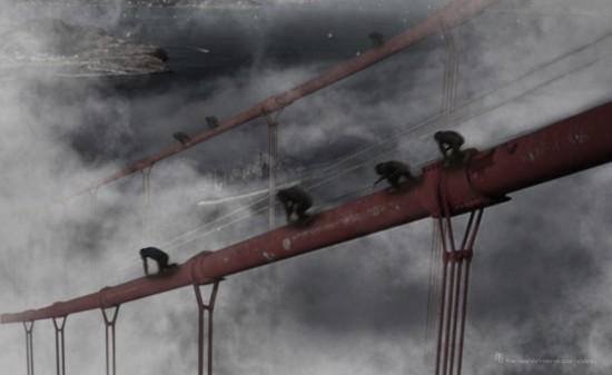 apes-on-golden-gate-bridge