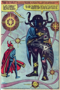 Doctor Strange meets Eternity