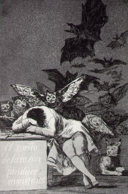 Francisco Goya: The Sleep of Reason Produces Monsters