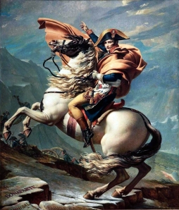 Jacques-Louis David: Napoleon Crossing the Alps