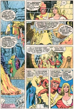 Interior art from Justice League of America 185