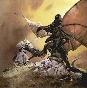 This is the Eowyn I grew up with, and McBride's version will always be a favorite