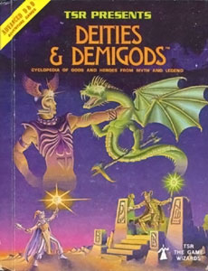 Deities & Demigods; cover by Erol Otus