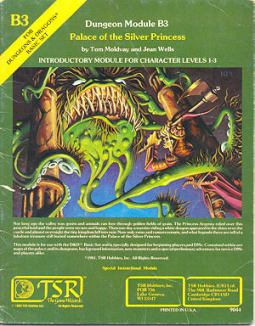 Otus does the cover of perhaps my favorite TSR Module of all time, and be sure to remember that creature!