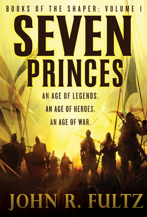 Rich Anderson's fantastic cover for SEVEN PRINCES. The book hits stores on January 3rd.