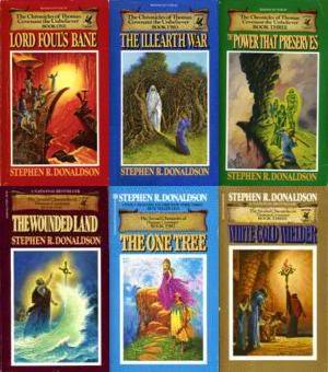 The Chronicles of Thomas Covenant the Unbeliever (six volumes)