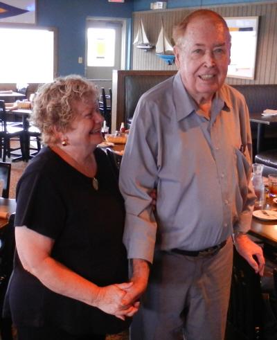 Barbara Barrett and Glenn Lord