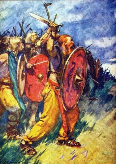 Cimbrian warriors