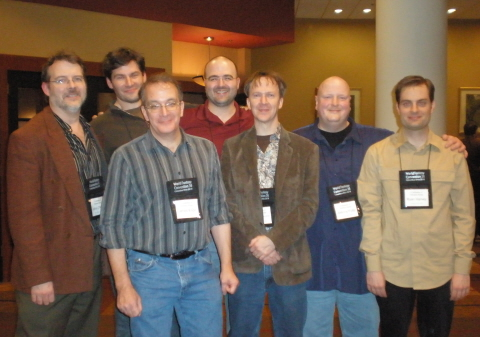 Team Black Gate: Editor John O'Neill, Contributing Editor Editor Bill Ward, James Enge, Rouge Blades editor Jason Waltz, Managing Editor Howard Andrew Jones, John R. Fultz, and Ryan Harvey