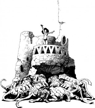 warlord-of-mars-frazetta-banth-tower
