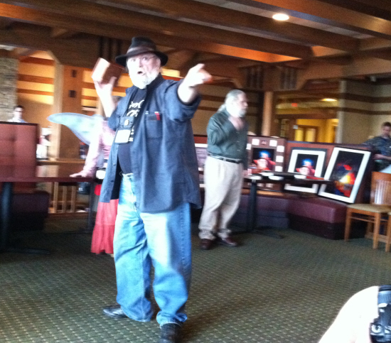 Tim Kask and Frank Mentzer get things going in the auction